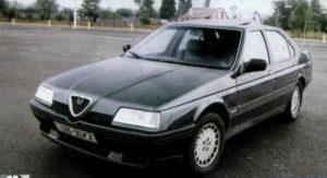Alfa Romeo 164 опыт владения
