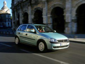Третье поколение Opel Corsa (С)