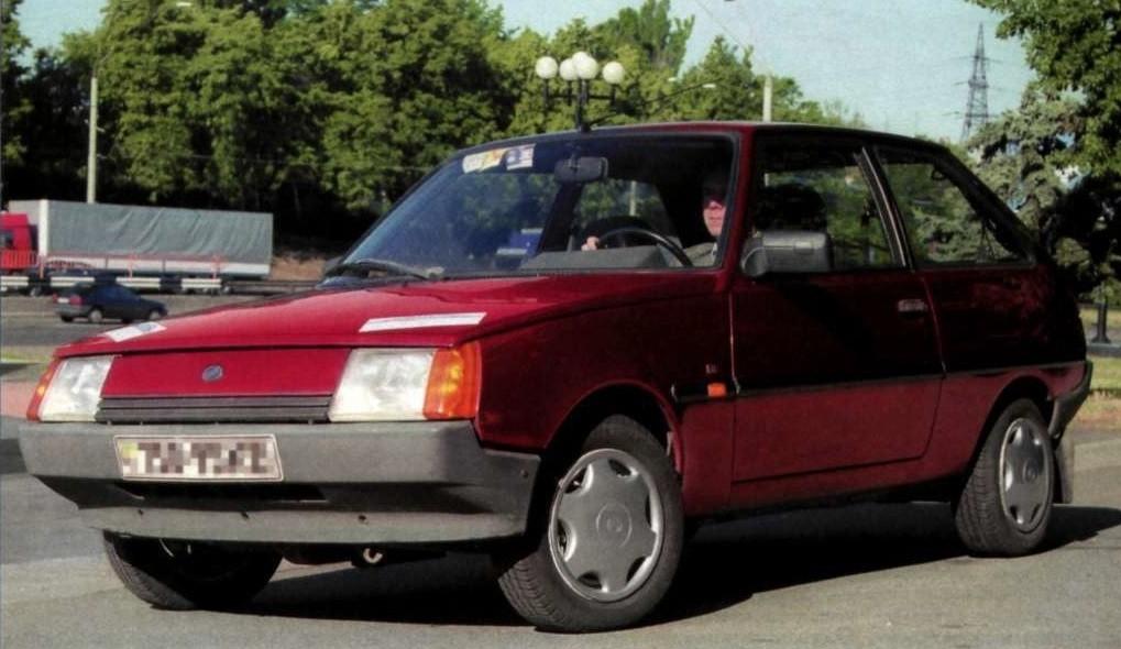 Zaz-1102 Таврия Нова