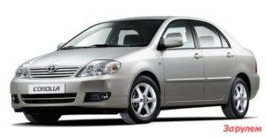 Toyota Corolla X Е120