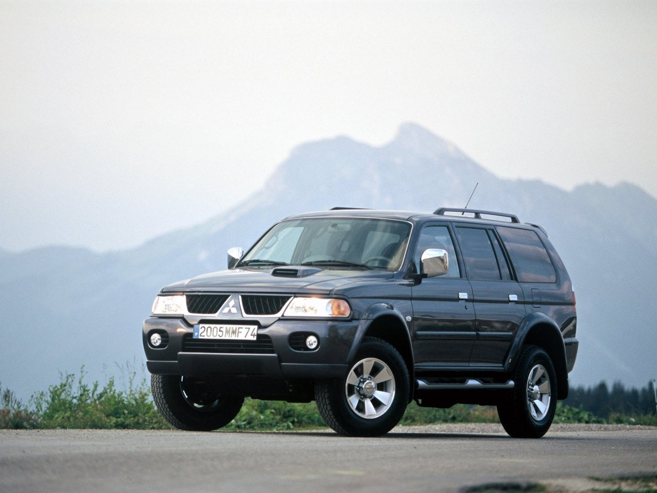 Mitsubishi Pajero Sport I рестайл