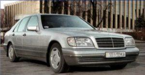 Mercedes Benz S-class W140