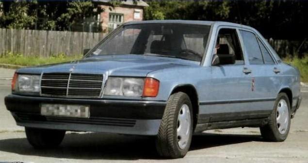 Mercedes Benz 190 W201