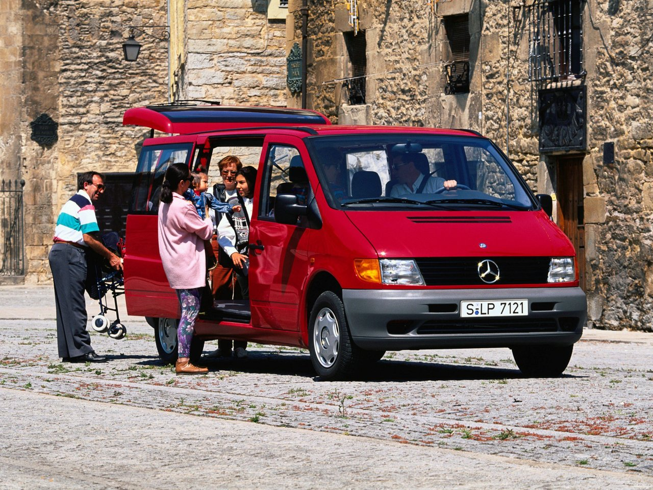 Mercedes Benz Vito W638