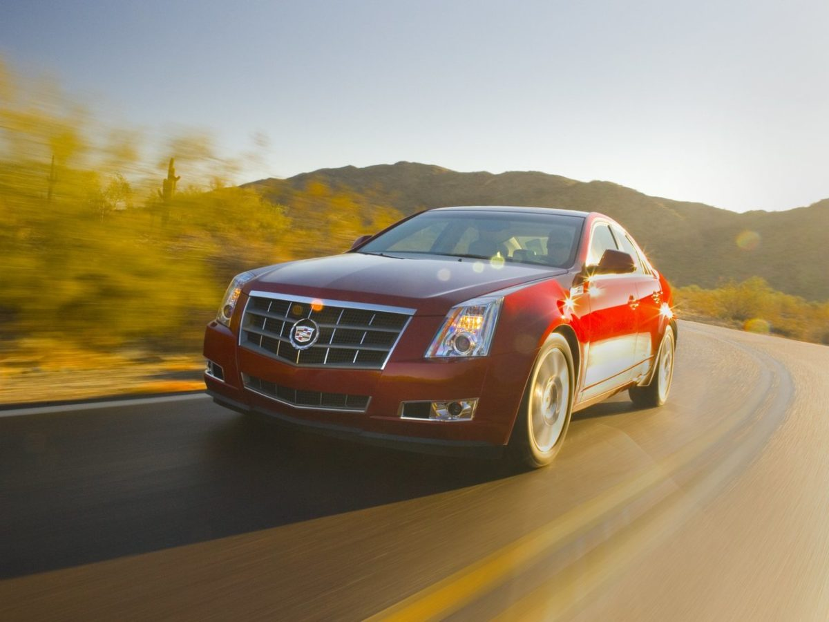 Cadillac CTS Coupe II